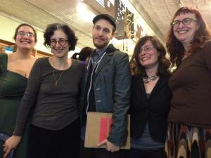 Most of the readers. Observe that post-reading glow!
